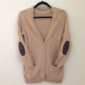 Gap Grandpa Cardigan Elbow Patches Vintage Style